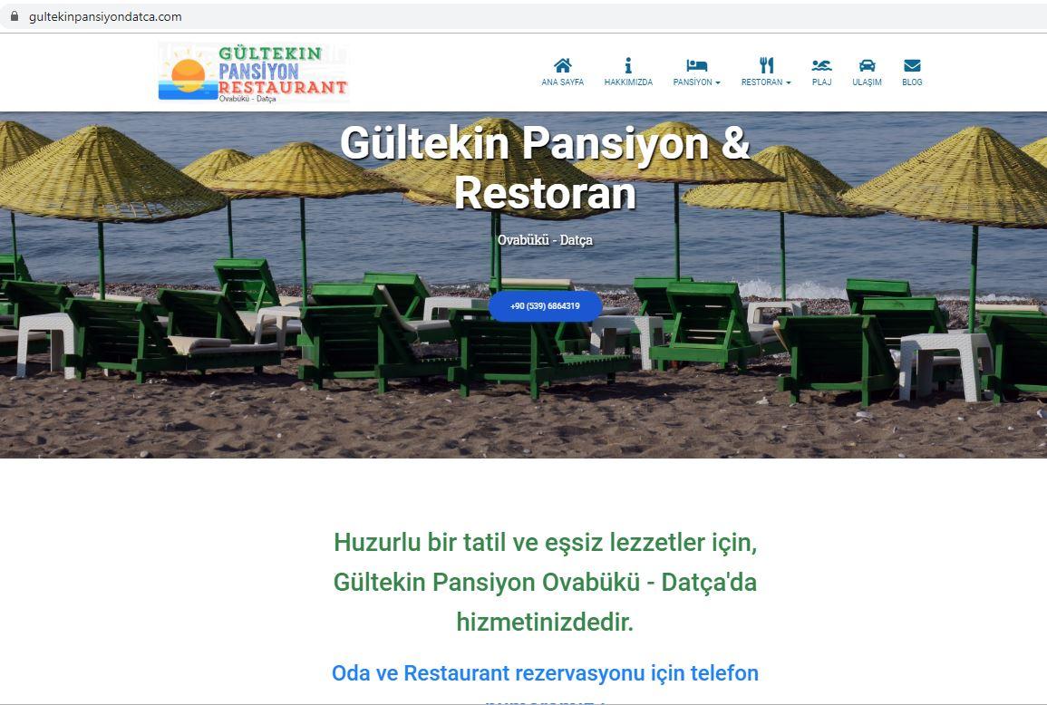 Gültekin Pansiyon Datça WEB Sayfası