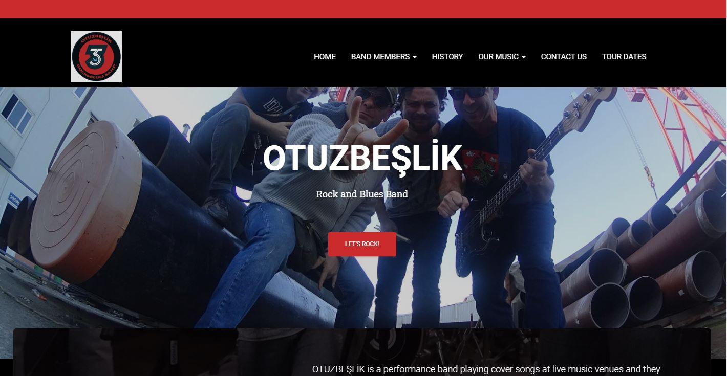 Otuzbeşlik Rock Grubu WEB Sayfası